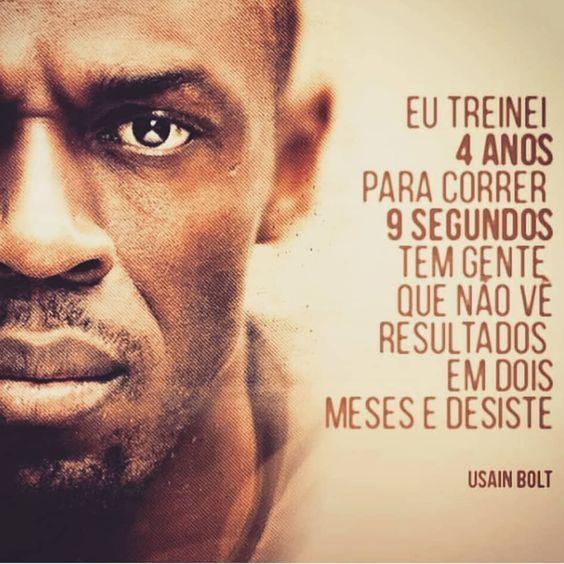 Frase de Usain Bolt