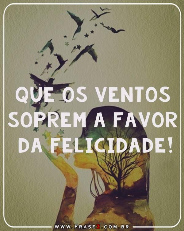 favor da felicidade!