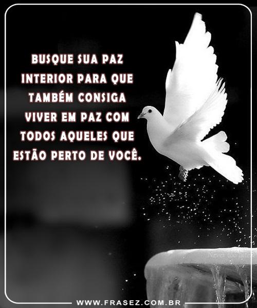 Busque sua paz!
