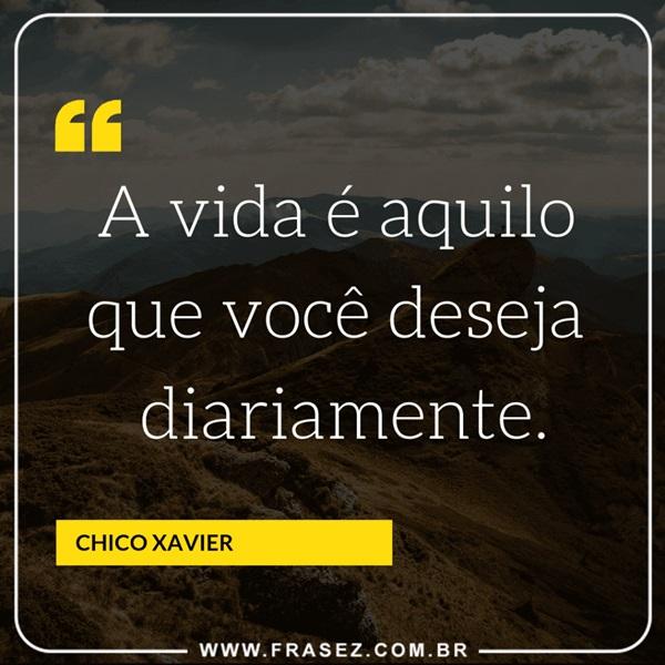 Frase Chico Xavier