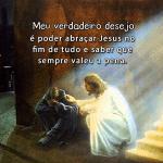 Abraçar Jesus