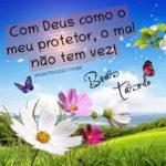 Deus é protetor, boa tarde!