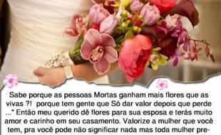 Flores para sua esposa