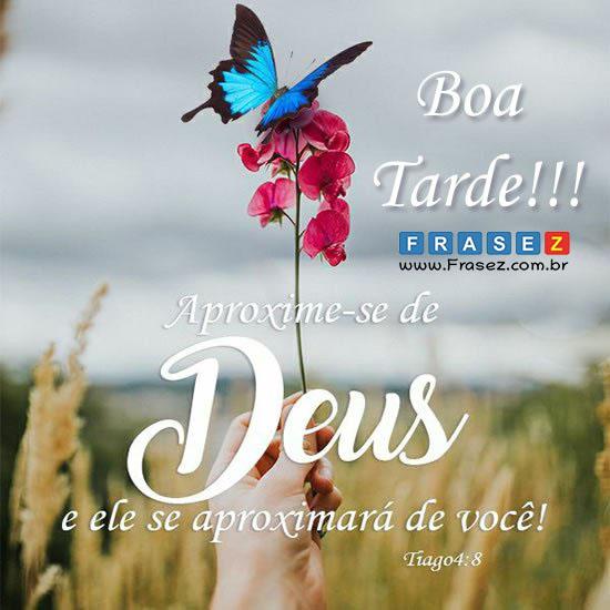 Aproxime-se de Deus