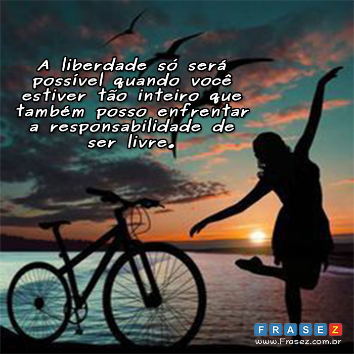 Frase de liberdade