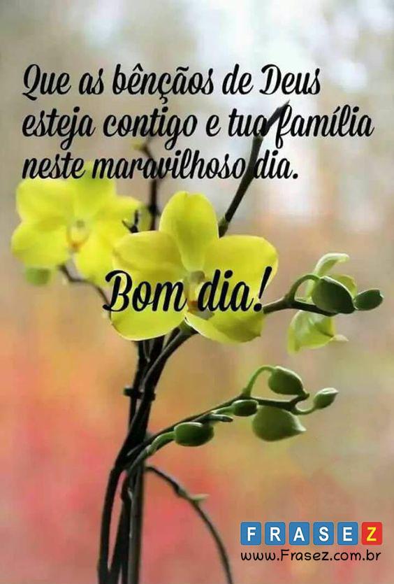 Maravilhoso dia, Bom dia família !