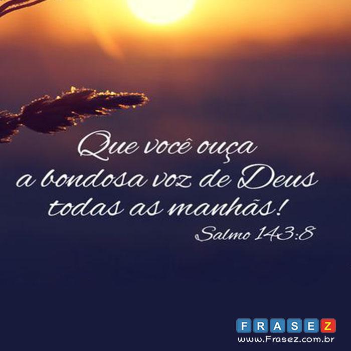 Salmo 143:8