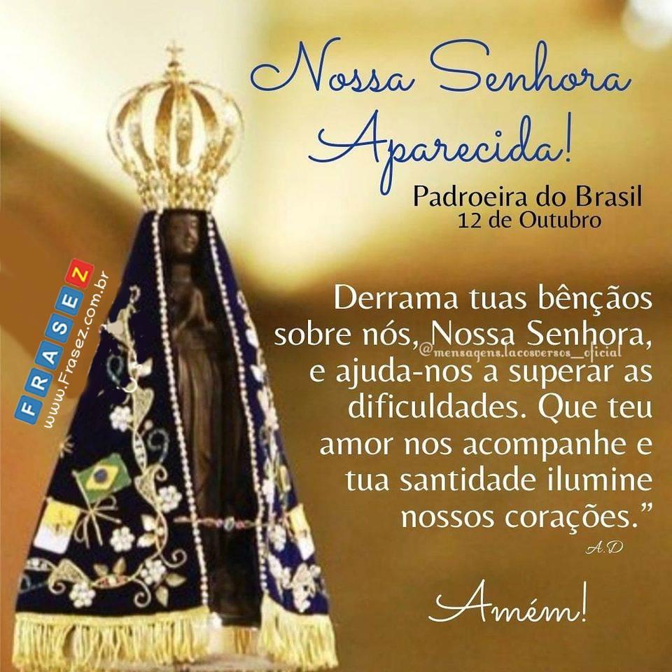 Oração de Nossa Senhora Aparecida.