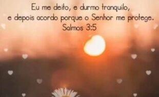 Boa noite, salmo 3,5