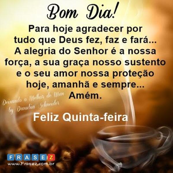 Frase Feliz Quinta-Feira