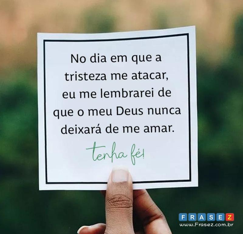 Frase de Tenha fé!