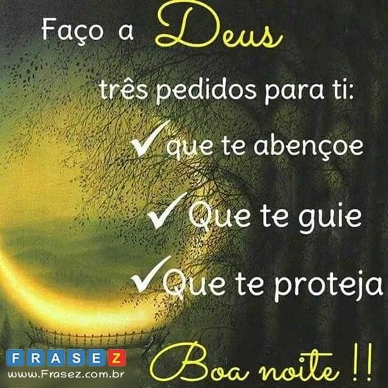 Que te proteja Boa noite!!