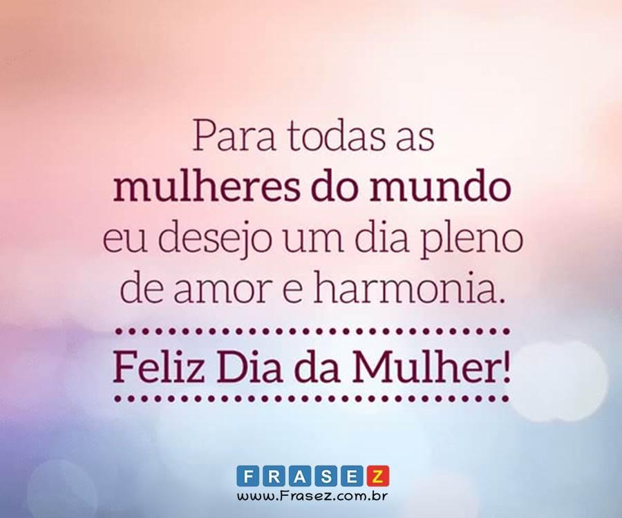 Dia da mulheres
