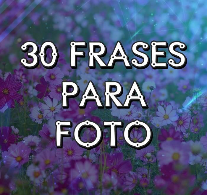 Frases para foto